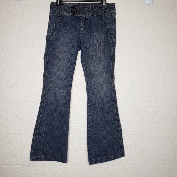 Z. Cavaricci Select Brand Blue Jeans Size 7